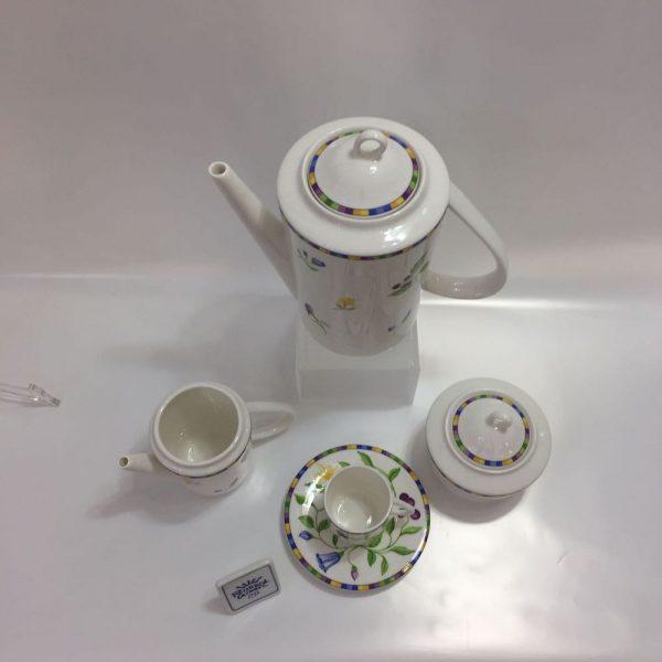 ATHENA BOTTICELLI CAFFE' 15 PZ. BONE CHINA RICHARD GINORI