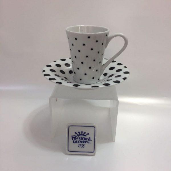 CRETA POINTS CAFFE' 15 PZ PORCELLANA RICHARD GINORI