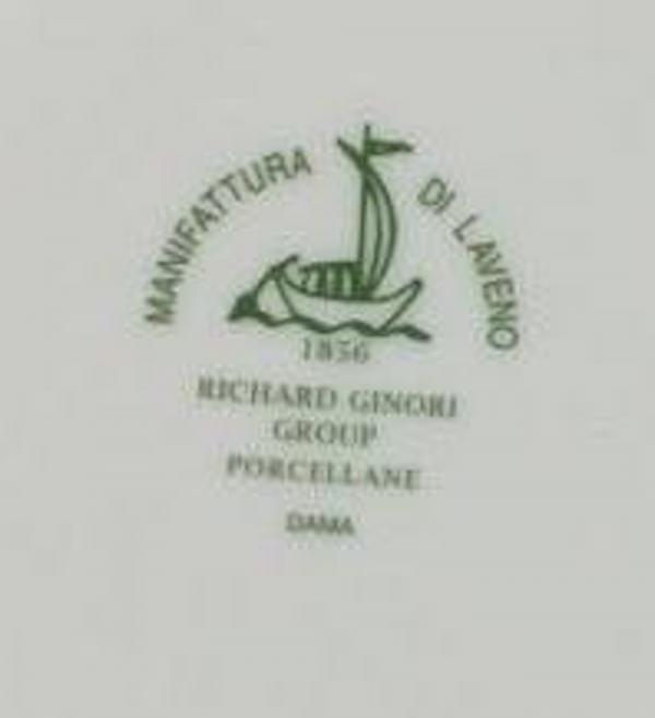 GONZAGA DAMA PIATTI 40 PZ. PORCELLANA RICHARD GINORI