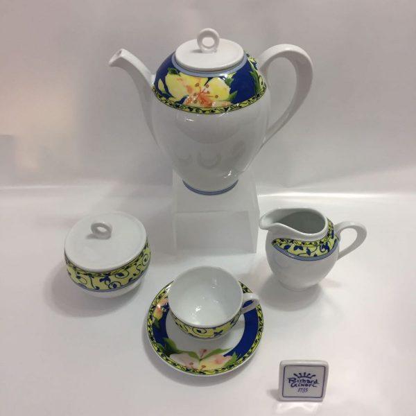 H.QUATTROCCHI BORROMEO CAFFE' 15 PZ. PORCELLANA RICHARD GINORI