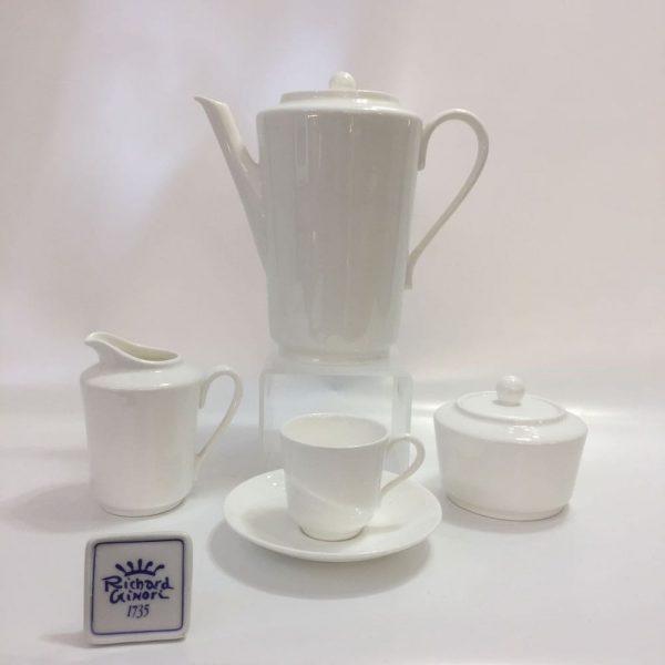 LAGO BIANC0 CAFFE' 15 PZ. BONE CHINA RICHARD GINORI