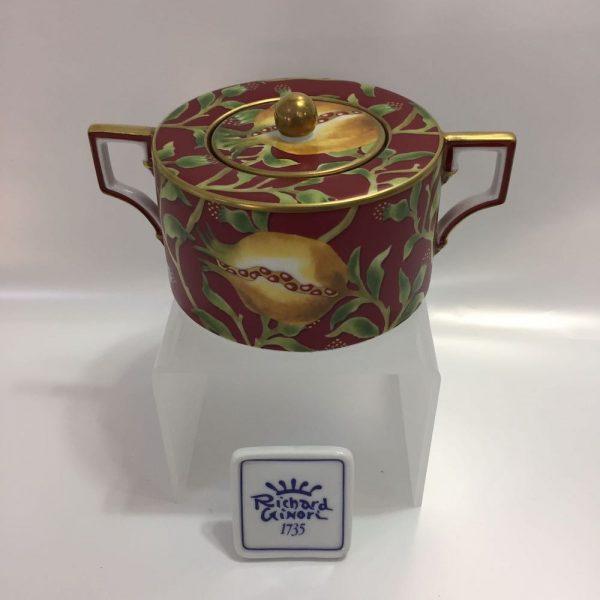 LUNA MELOGRANO CAFFE' 15 PZ. PORCELLANA RICHARD GINORI BY GIAMBATTISTA VANNOZZI