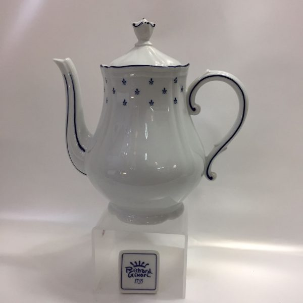 ROYAL BLU' CAFFE' 15 PZ. PORCELLANA RICHARD GINORI