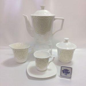 SIRIO ROSE CAFFE 15 PZ. BONE CHINA RICHARD GINORI