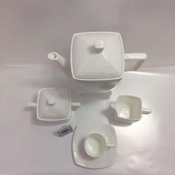 VELA BIANCO CAFFE' 15 PZ. BONE CHINA RICHARD GINORI
