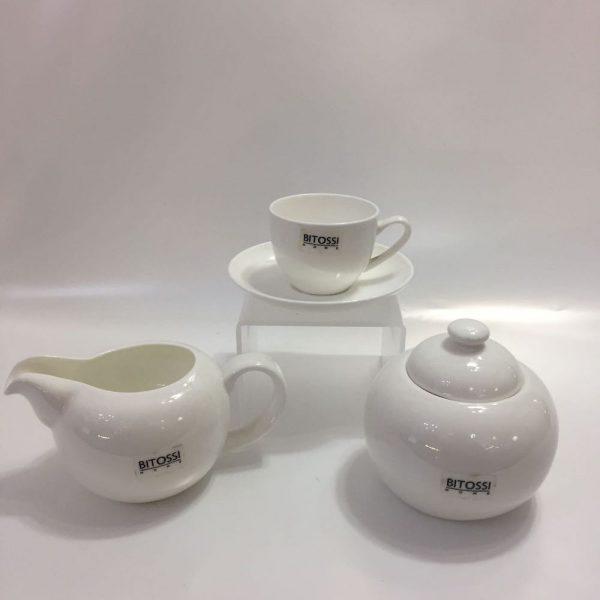 CAFFE' 8 PZ. BITOSSI BONE CHINA MOD. ANNA
