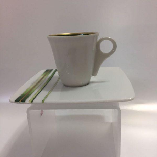 RAYURES VEGETAL CAFFE 15 PZ. PORCELAINE DE LIMOGES