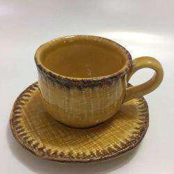 TAZZE CAFFE' CERAMICA VIRGINIA FATTE A MANO