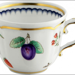 TAZZA CAFFE' ITALIAN FRUIT ANTICO DOCCIA PORCELLANA RICHARD GINORI